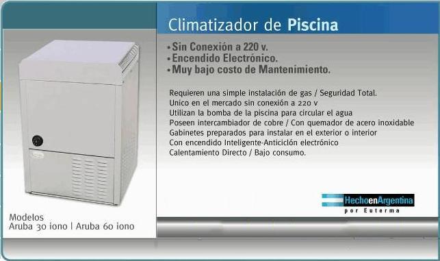 Comprar Climatizador de Piscina