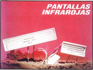 Pantallas Infrarrojas