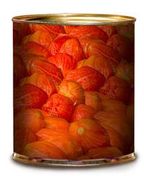 Compro Tomate perita pelado entero en lata