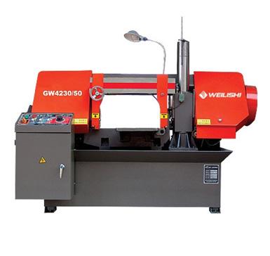 Comprar Máquina de corte sin fin de Metales, Doble Columma, Weilishi GW 4230