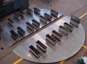 Comprar Platos para Internos de Torres de Destilación