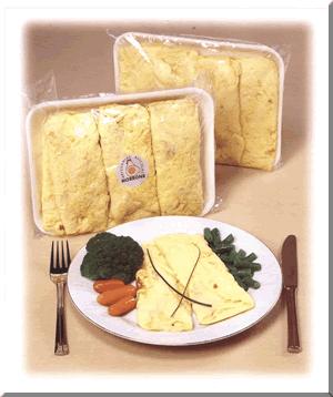 Comprar Huevo entero cocido saborizado tipo omelette
