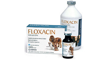 Antibiótico Floxacin Solución