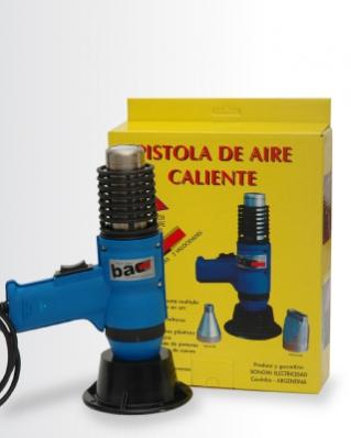 Comprar Pistola de aire para termocontraer packs en forma manual con polietileno, poliolefina o PVC