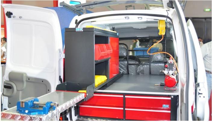 Comprar Mueble para equipamiento vehicular / MEV101
