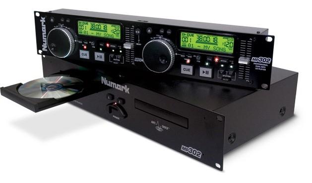 Comprar Reproductor de CD doble MP302