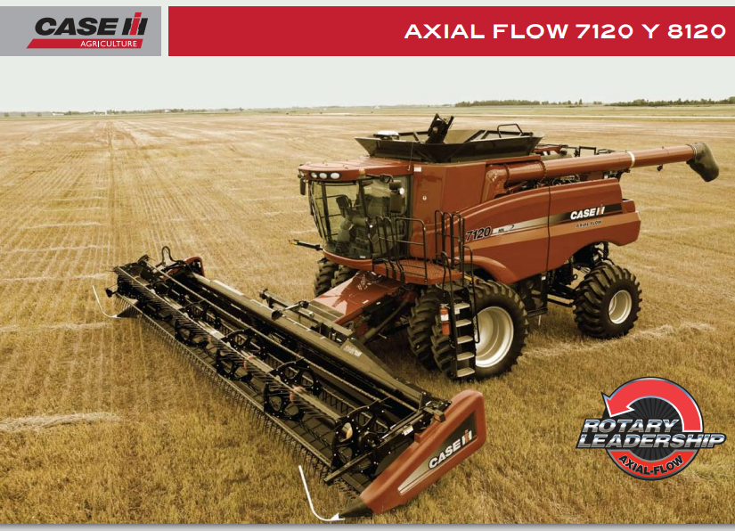 Comprar Cosechadoras Axial Flow 8120