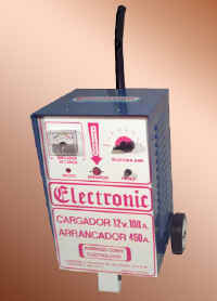 Comprar Cargador arrancador tipo carrito de 100 amperes