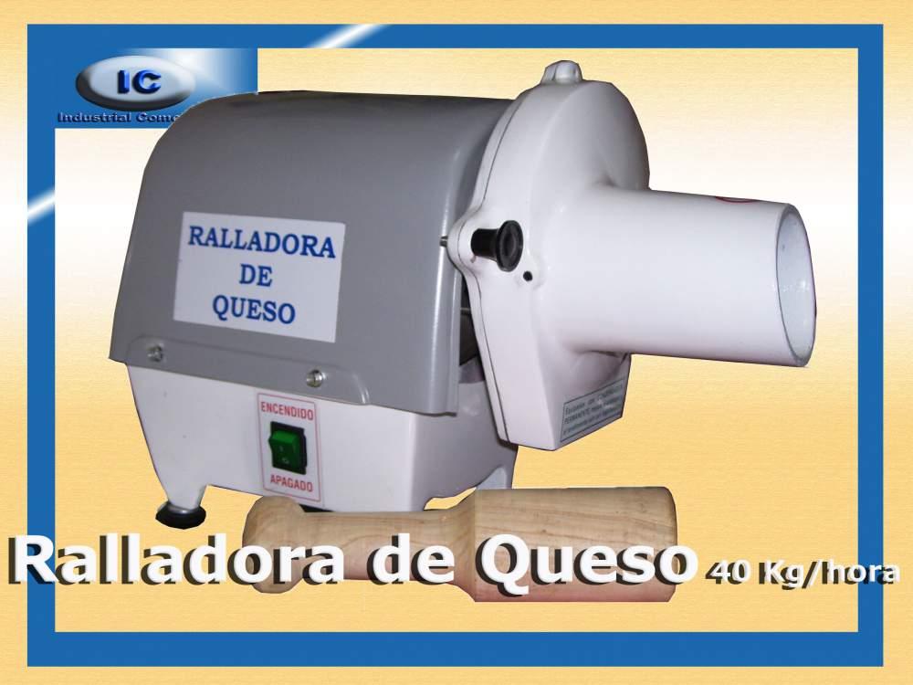 Comprar Ralladora de Queso 40 Kg/hora ICindcom