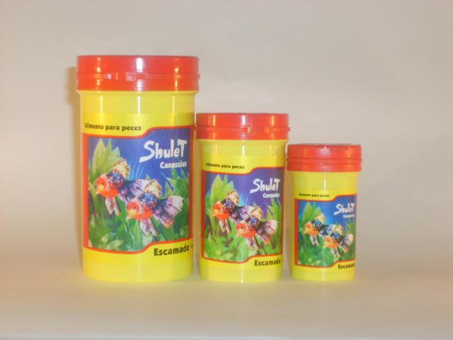 Comprar Alimento para peces Shulet Nro 1 - 10g Escamas agua fría