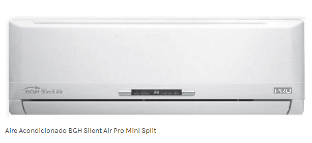 Comprar Aire Acondicionado BGH Silent Air Pro Mini Split