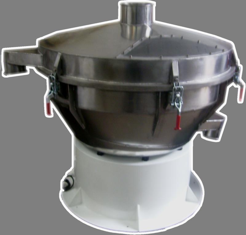 Comprar Zaranda vibratoria circular con motovibrador para clasificación de polvos finos / separación de sólidos de líquidos