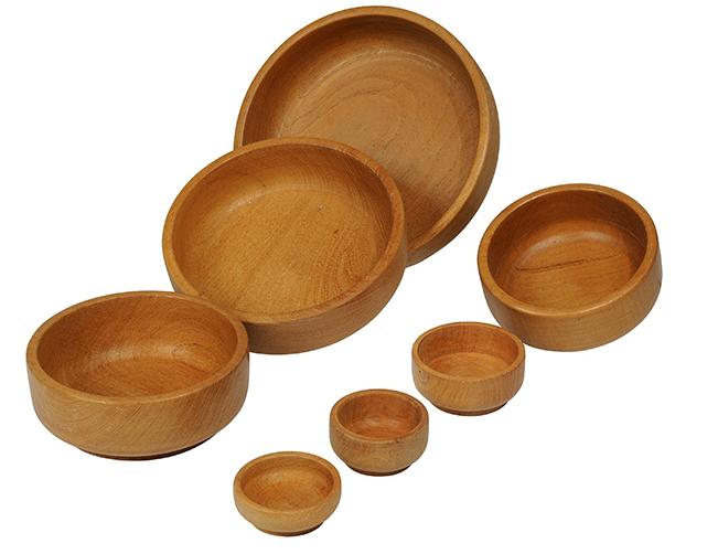 Comprar Bol recto madera natural
