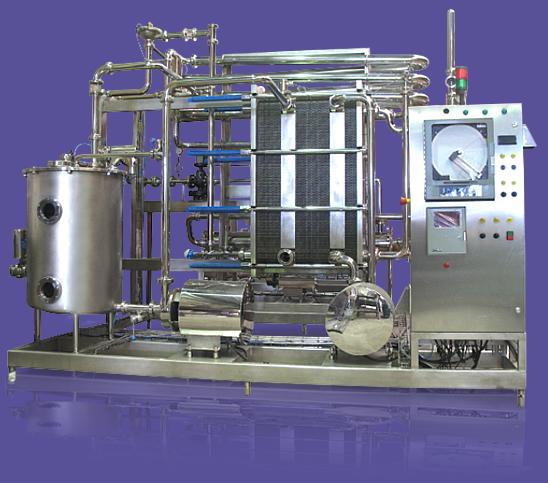 Comprar Pasteurizador H.T.S.T. 10.000 lt./hr.