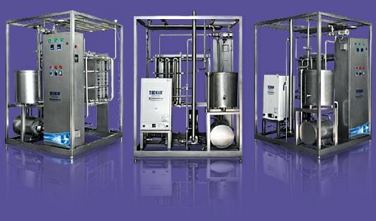 Comprar Pasteurizador H.T.S.T. 500 a 1.000 lt/hr.