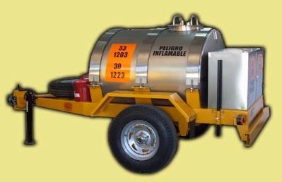Comprar Trailers para Transporte de Sustancias / Trailer 1500 Litros con Caja Trasera