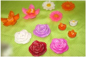 Comprar Velas Flores flotantes