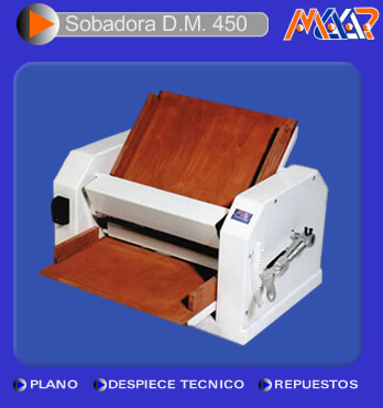 Sobadora DM 450 - Art. 553