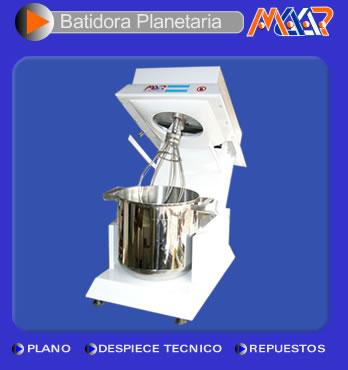 "Comprar Batidora planetaria x 10 Lts. ""Cabeza Lebadiza"""