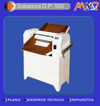 Comprar Sobadora DP 500