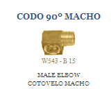 Comprar Codo 90º Macho