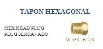 Comprar Tapón hexagonal