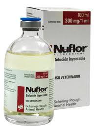 Comprar Antibióticos NUFLOR INY