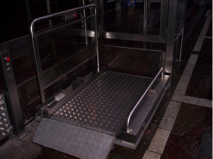 Comprar Plataforma elevadora p/ minusválidos