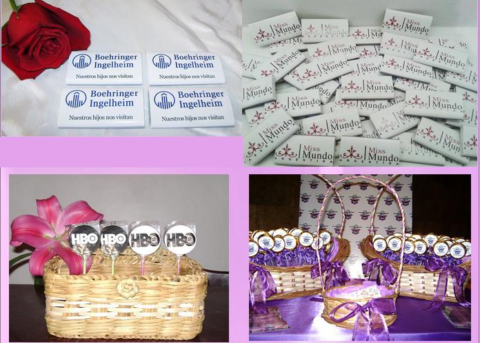 Comprar Golosinas con logo y Chocolates con logo