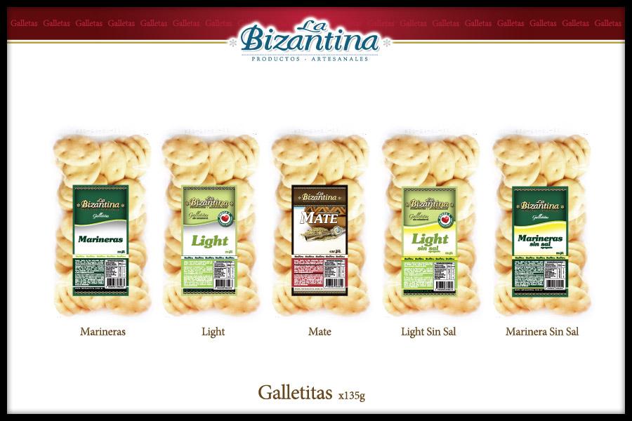 Comprar Galletitas x 135 Grs La Bizantina