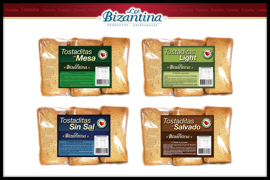 Comprar Tostaditas La Bizantina