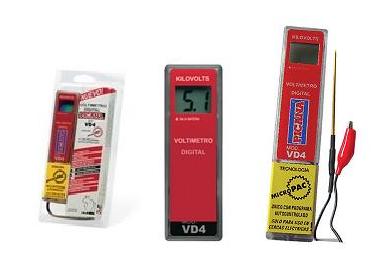Comprar Voltímetro digital picana VD-4 Con microcontrolador
