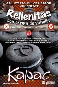 Comprar Galletitas Dulces de Chocolate Rellenas con Sabor a Vainilla