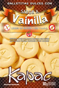 Comprar Galletitas Dulces con Sabor a Vainilla Libres de Gluten