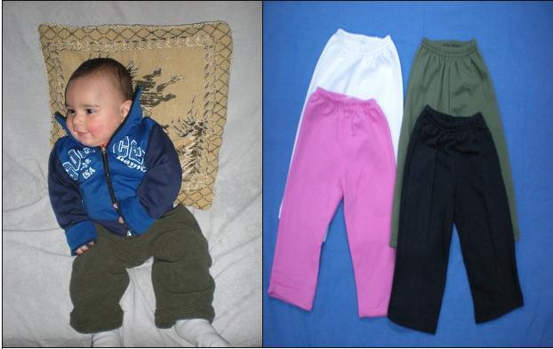 Comprar Pantalón bebé de algodón