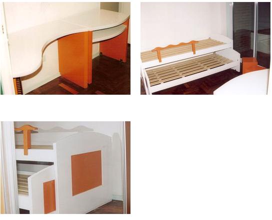 Comprar Juego de dormitorio laqueado blanco