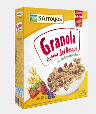 Comprar Granola crujiente del bosque