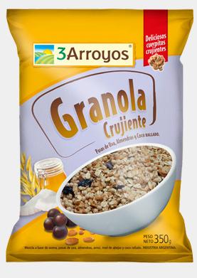 Comprar Granola crujiente