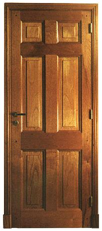 Comprar Puerta con marco y hoja en cedro brasileño
