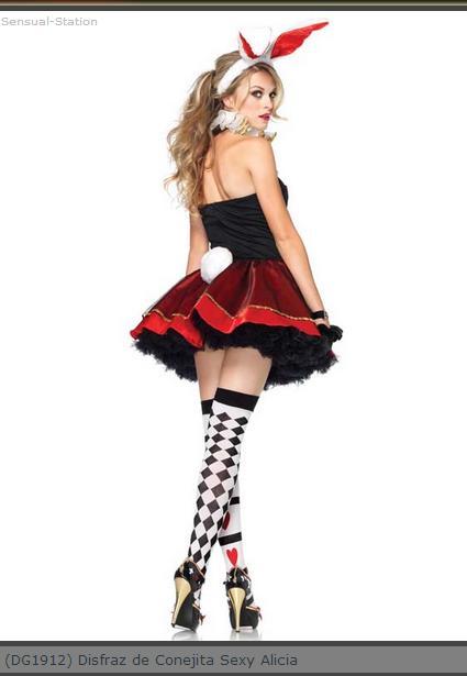 Comprar Disfraz de Conejita Sexy Alicia