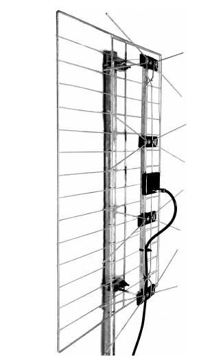 Comprar Antena receptora Televisión Digital Terrestre RTDT-P12