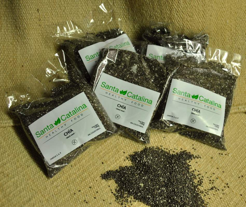 CHIA Black & White seed