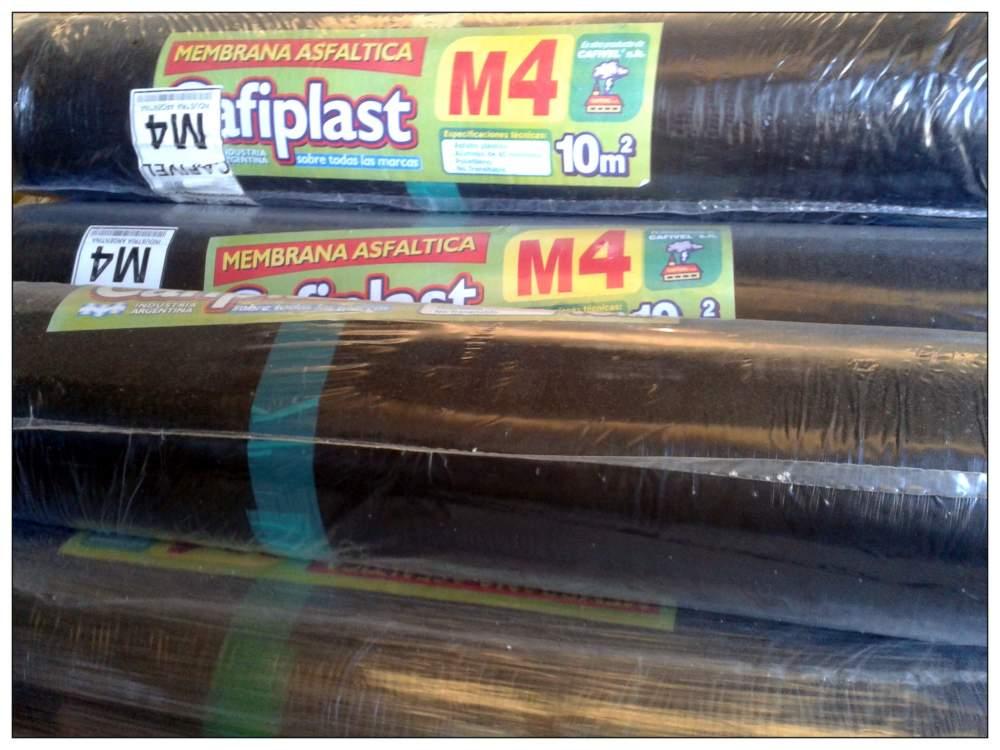 Comprar Membrana Asfáltica Nº 4 x 10m2 - 35Kg