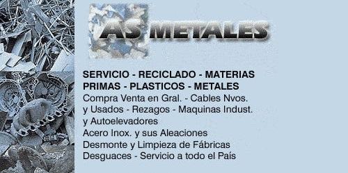 Comprar Metalesas