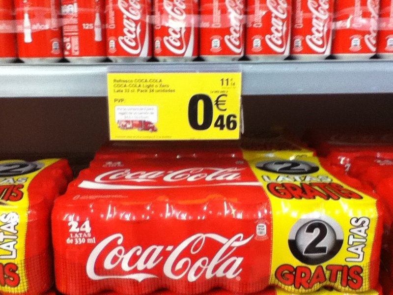 Comprar Coca cola lata x 33 cl packs x 24 uds