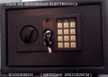 Comprar CAJAS DE SEGURIDAD ELECTRONICAS
