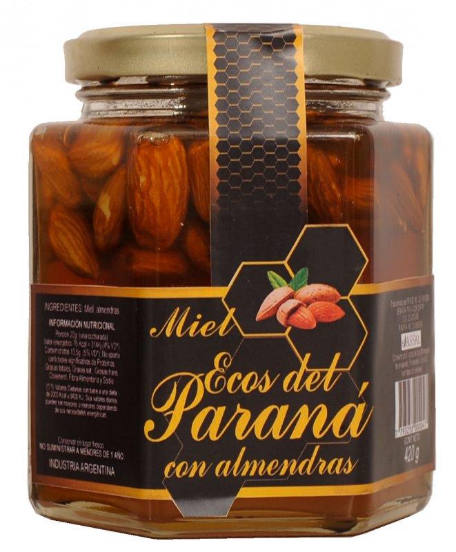 Comprar Miel con Almendras x 420 gr.