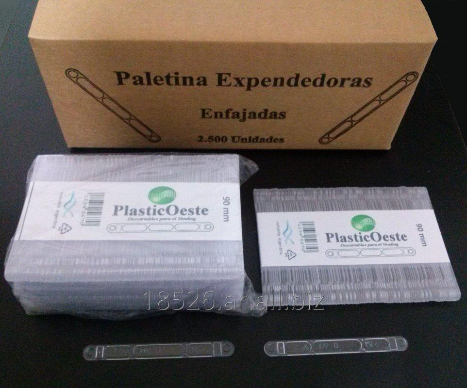 Comprar Paletinas plastica Expendedoras Automaticas 90 mm