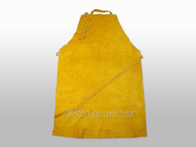 Comprar Delantal de cuero descarne amarillo