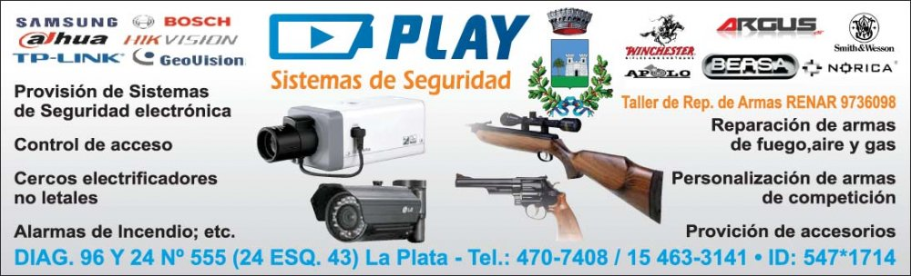 Comprar Seguridad electrónica y taller de reparación de armas.